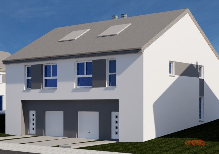 Maison jumelée à Hassel (future construction)