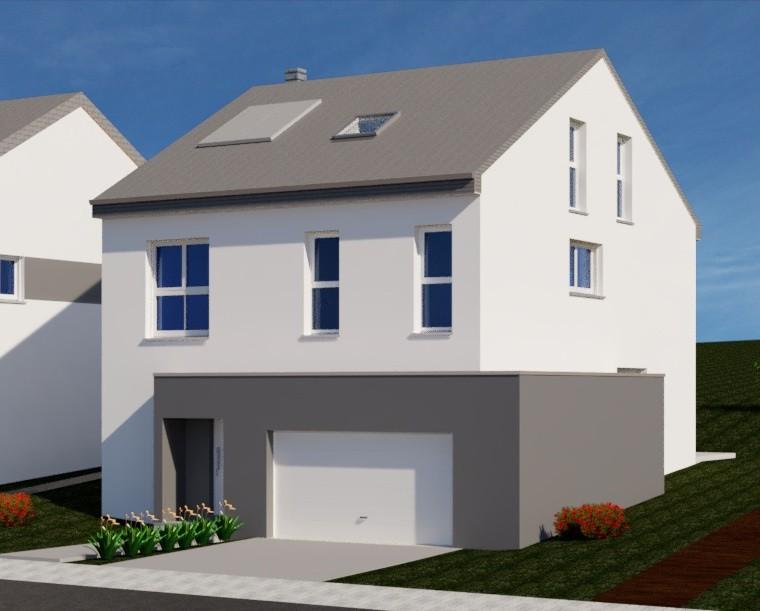 Maison individuelle à Hassel (future construction)